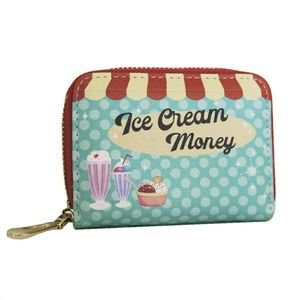 Ice Cream Money Credit Card Wallet